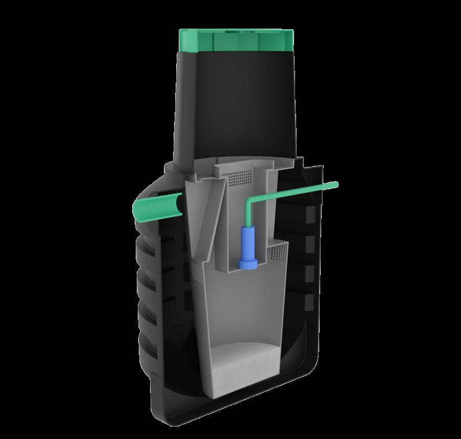 Септик Термит Профи+ 1.2 PR устройство