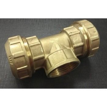 Соединитель труб ПНД (тройник В) 32 мм