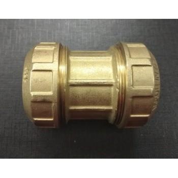 Соединитель труб ПНД (муфта) 40 мм