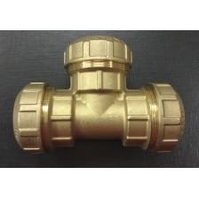 Соединитель труб ПНД (тройник) 25 мм