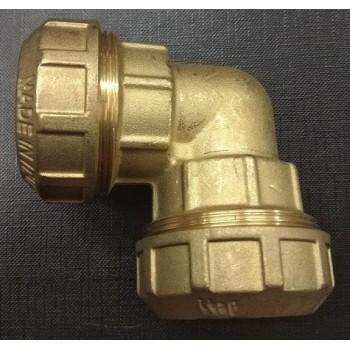 Соединитель труб ПНД (угол) 25 мм