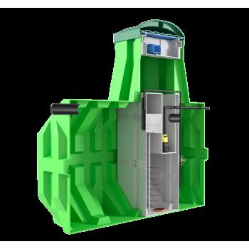 Станция биологической очистки ERGOBOX 10 PR (рассчитана на 10 человек)