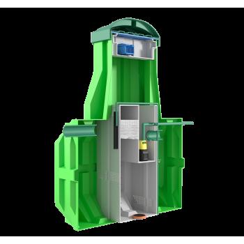 Станция биологической очистки ERGOBOX 3 PR (рассчитана на 3 человекa)