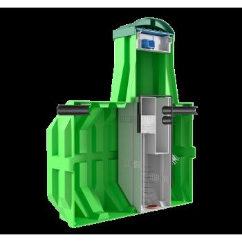 Станция биологической очистки ERGOBOX 7 S (рассчитана на 7 человек)