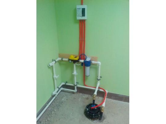 Создание системы водоснабжения дома в п. Шуйская Слобода из скважины