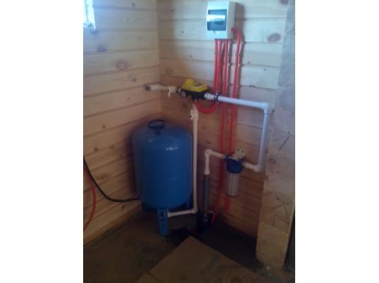 Организация водоснабжения загородного дома в п. Заозерье из скважины